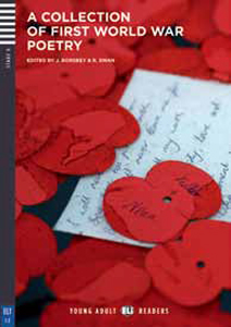 """Portada del libro de poemas en inglés """"A Collection of First World War Poetry """" sobre la primera guerra mundial"""
