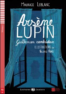 """foto de la portada del libro en francés """"Arsène Lupin, gentleman cambrioleur"""""""