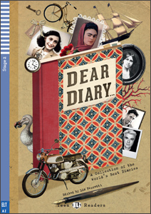 "portada del libro para aprender inglés ""Dear diary"""