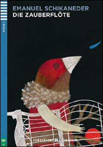 """Portada del libro en alemán """"Die Zauberflöte"""""""