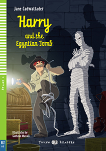 "portada del libro ""Harry and the Egyptian Tomb"""