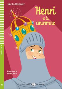 """portada del libro original en francés """"Henri et la couronne"""""""