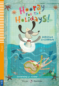 "Portada del libro en inglés ""Hooray for the Holidays"""