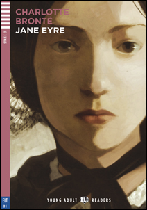 """Portada del libro adaptado para el aprendizaje del inglés """"Jane Eyre"""""""