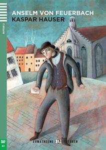 """Portada del libro en alemán """"Kaspar Hauser"""""""