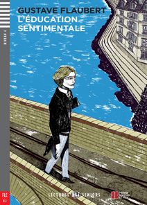 """Portada del libro """"L'Education Sentimentale"""" en idioma francés."""