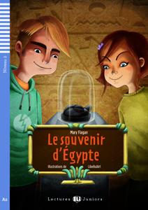 """Portada dllibro en francés """"Le souvenir d'Égypte"""""""