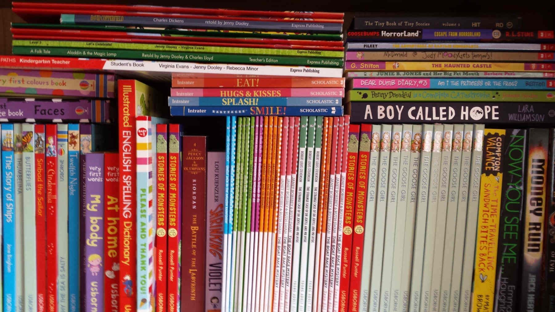Libros o lecturas en Inglés, francés, alemán, español