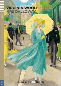 """Portada del libro adaptado para adolescentes """"Mrs Dalloway"""" para el aprendizaje del idioma inglés"""