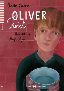 """Portada del libro original en inglés """"Oliver Twist"""""""