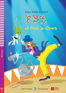 """Portada del libro en francés """"PB3 et Coco le Clown"""""""